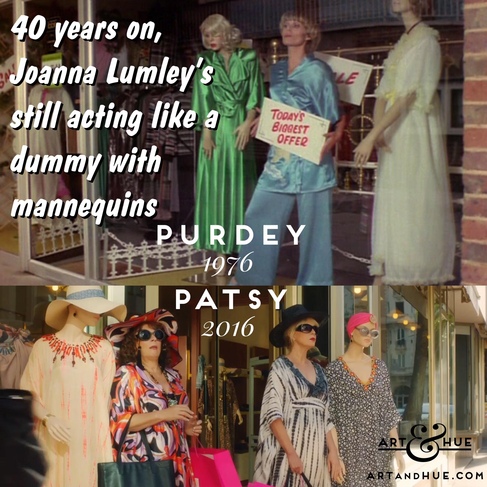 Ab Fab Purdey Patsy