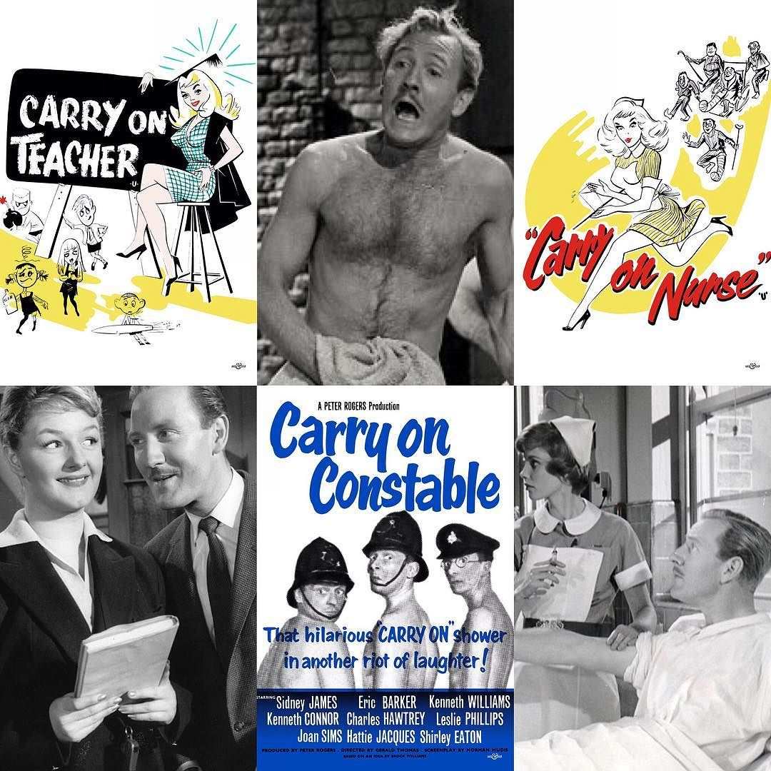Leslie Phillips Carry On Films