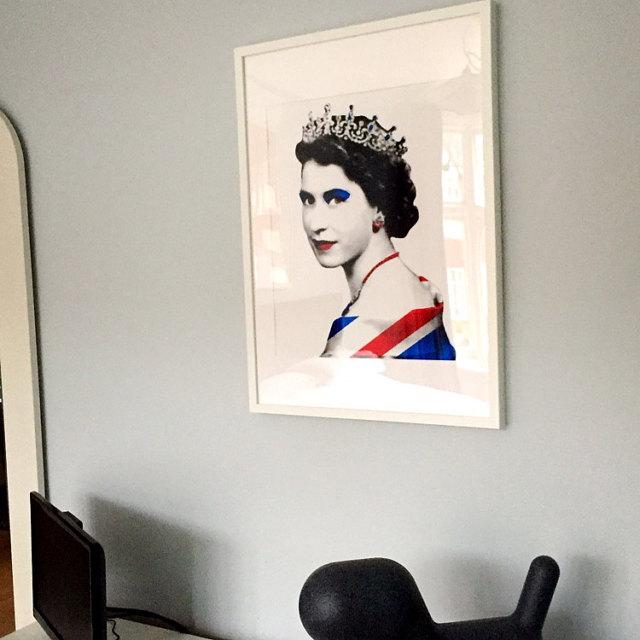 The Queen Union Flag Nancy
