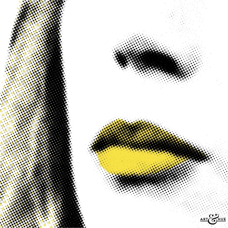 Joanna Lumley Purdey Pop Art By Art Amp Hue Art Amp Hue