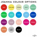 Joanna Lumley Colour Options