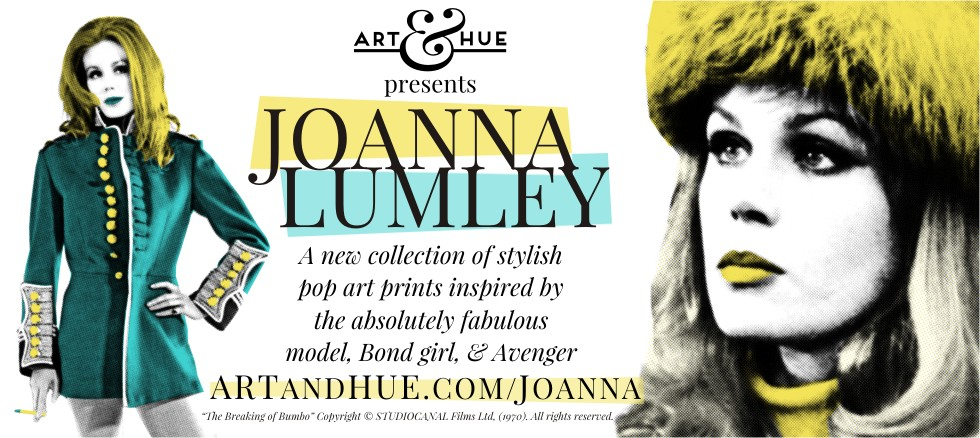 Art & Hue presents Joanna Lumley