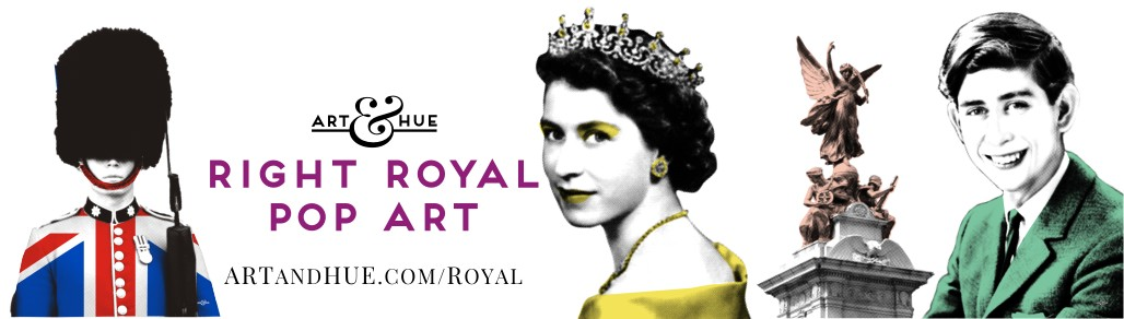 Right-Royal Pop Art by Art & Hue