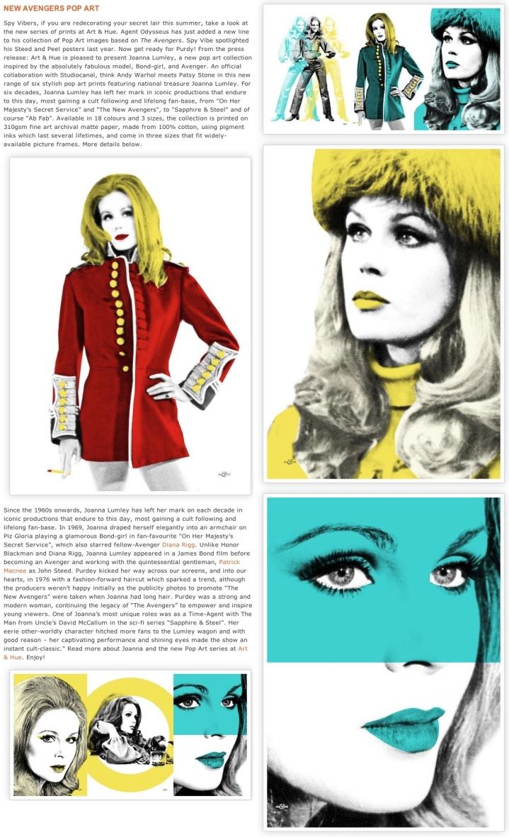 SpyVibe Joanna Lumley