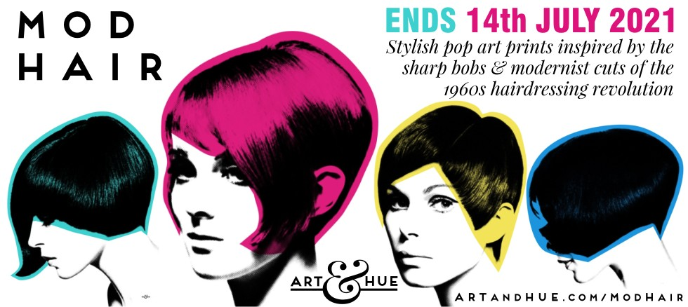 Mod Hair VIdal Sassoon Vic Singh 1960s