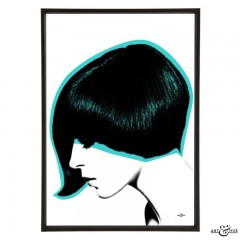 Mod Hair Asymmetric Cut
