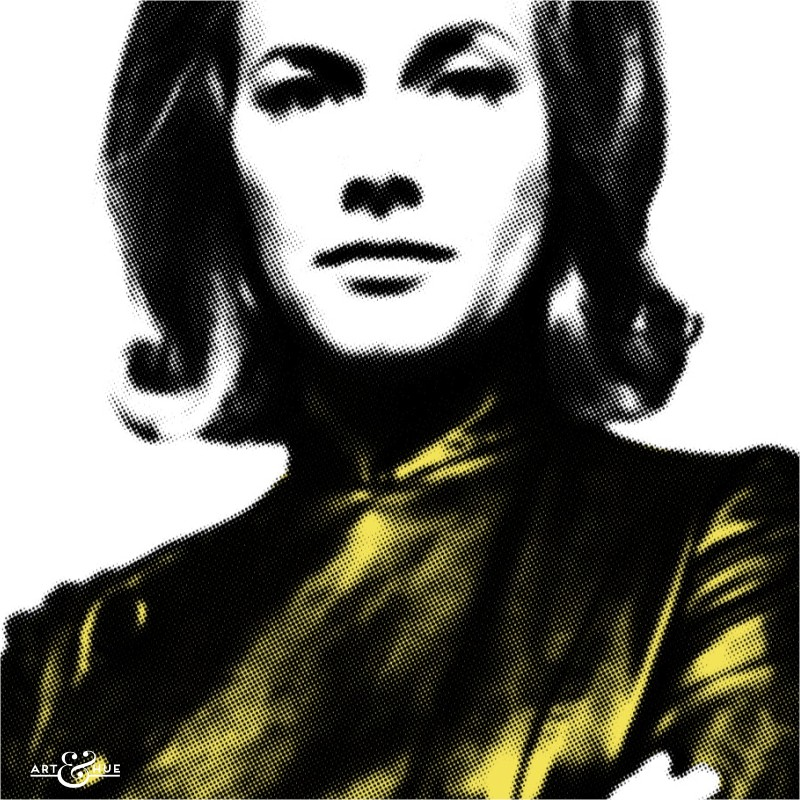 Fashion Icon Dr Cathy Gale The Avengers Graphic Pop Art
