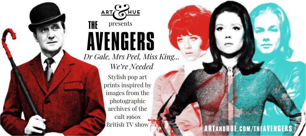 The Avengers pop art & greeting cards by Art & Hue