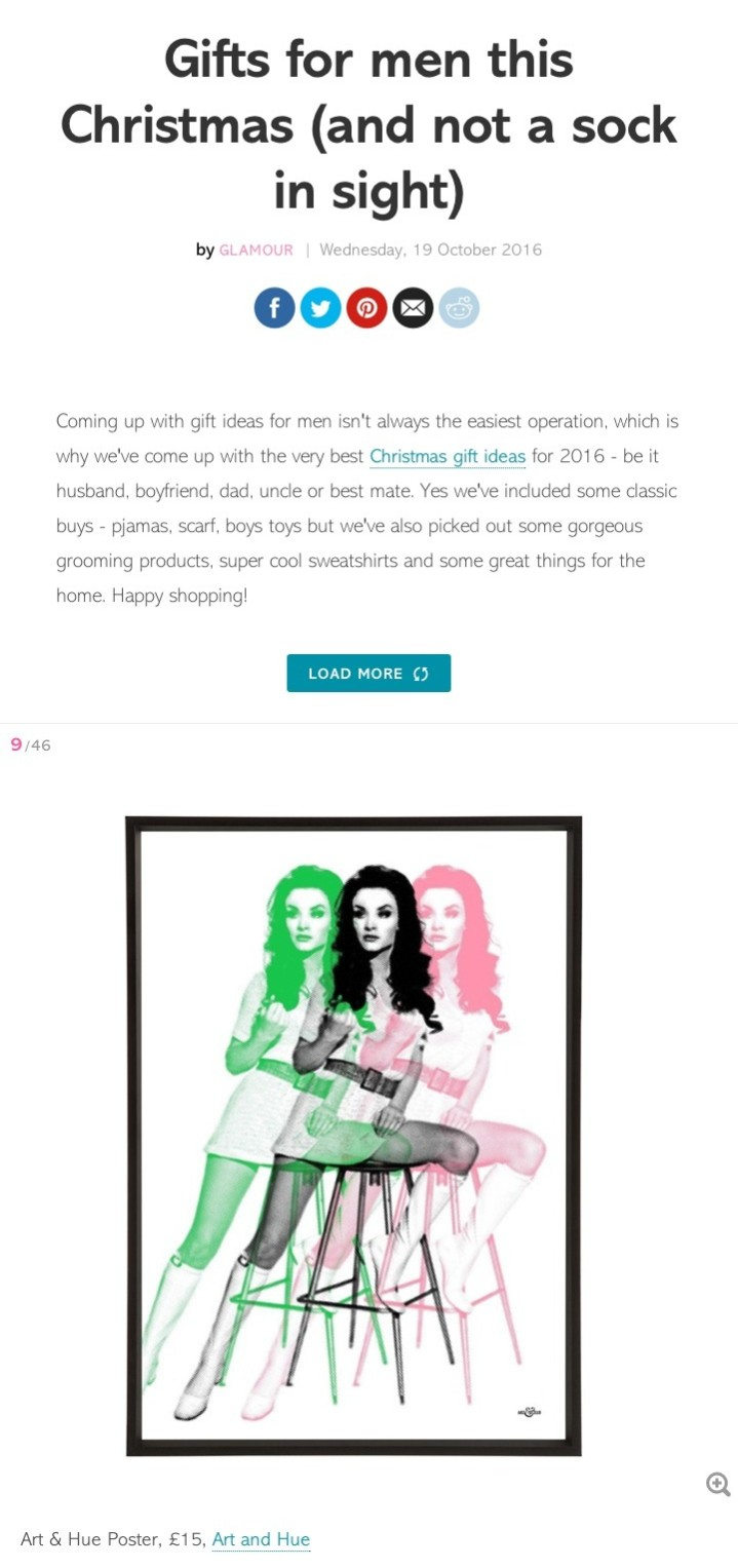 Glamour Magazine gift guide
