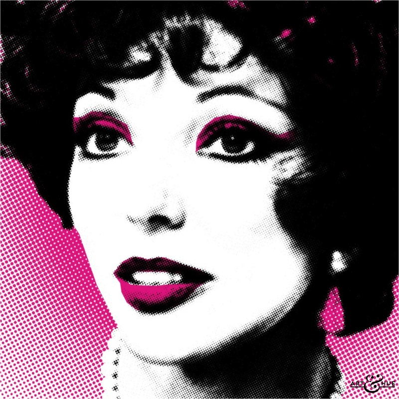 Art & Hue Joan Collins Pop Art