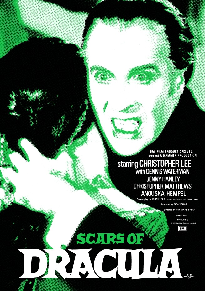 Scars Of Dracula Emerald Christopher Lee