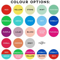 Colour Options Carnaby