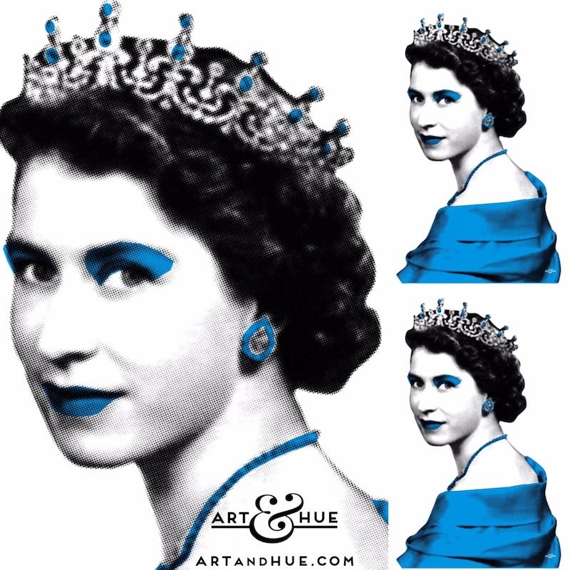 Sapphire Jubilee Pop Art