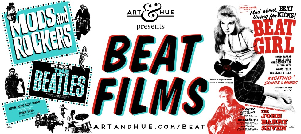 Art & Hue presents Beat Films Pop Art Prints