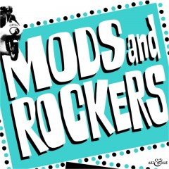 Mods & Rockers pop art print by Art & Hue