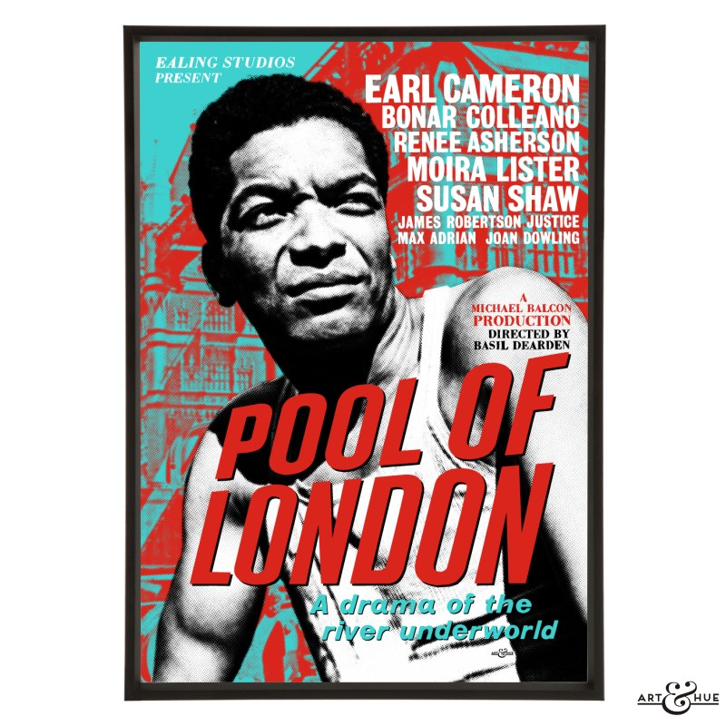 Pool of London Pop art print by Art & Hue