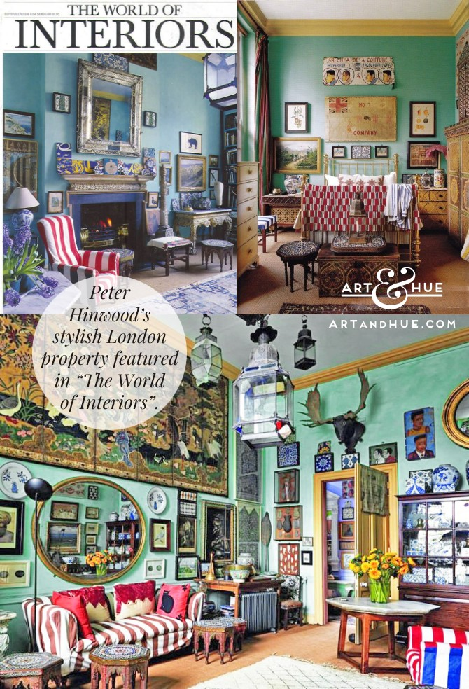 Peter Hinwood The World of Interiors