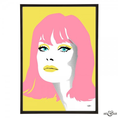 Jean_Shrimpton_Yellow