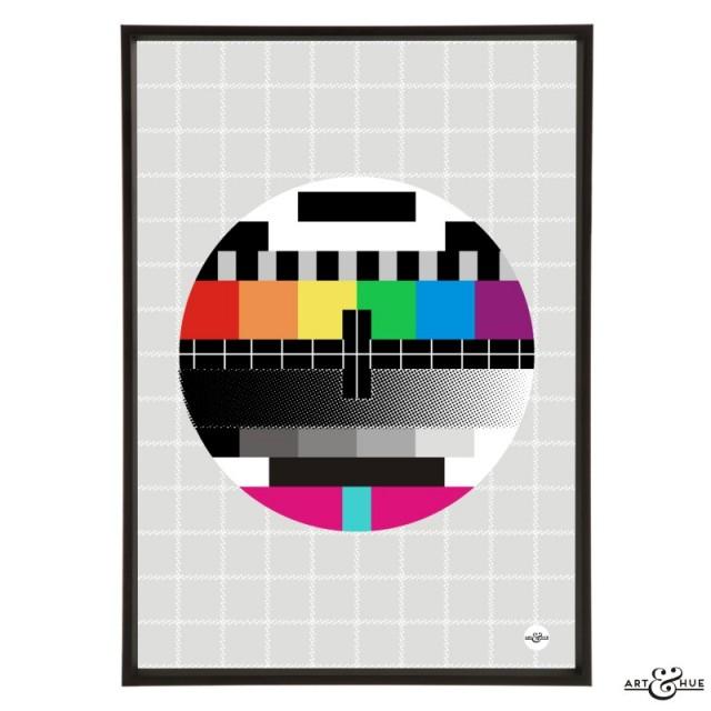 TV Test Card Rainbow
