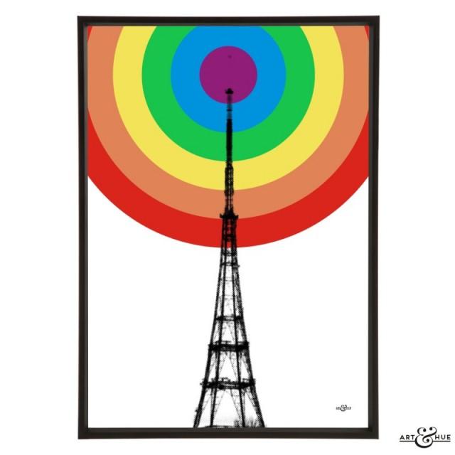 TV Transmitter Rainbow