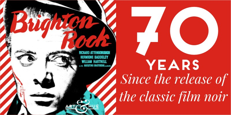 70 Years since classic British film noir Brighton Rock