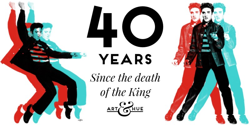 40 years since the passing of The King of Rock & Roll Elvis Presley