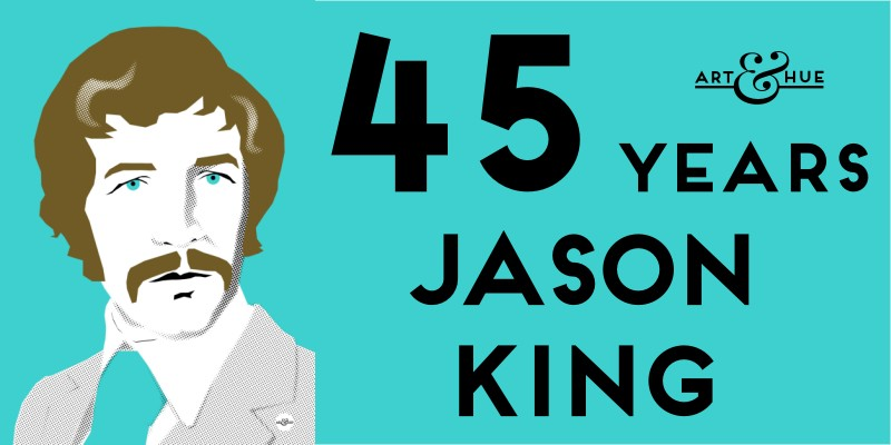 45 years since the cult TV series Jason King with Peter Wyngarde