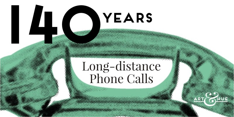140 years since the first long-distance phone calls