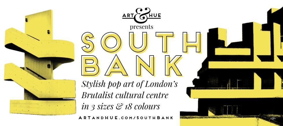 South Bank Pop Art by Art & Hue