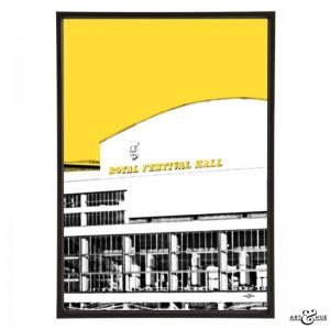 Royal Festival Hall Southbank Yellow