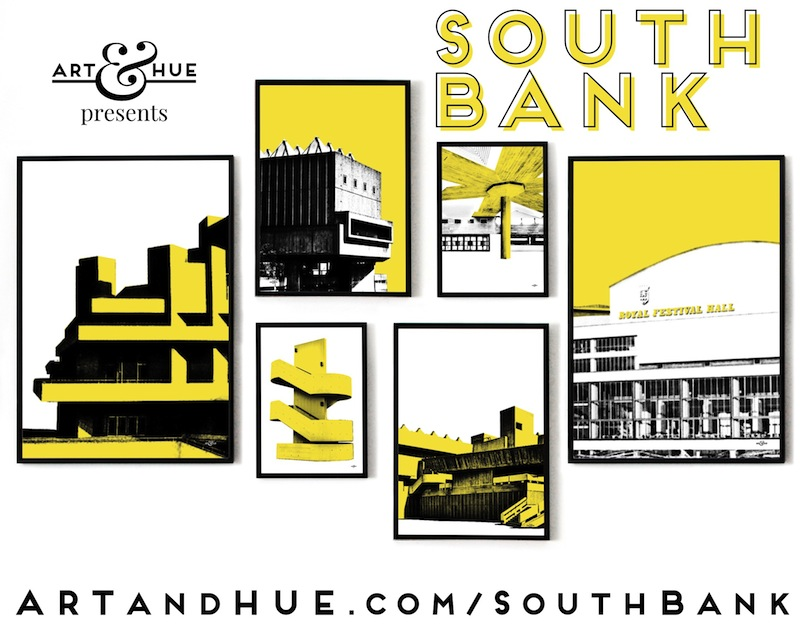 South Bank Pop Art by Art & Hue