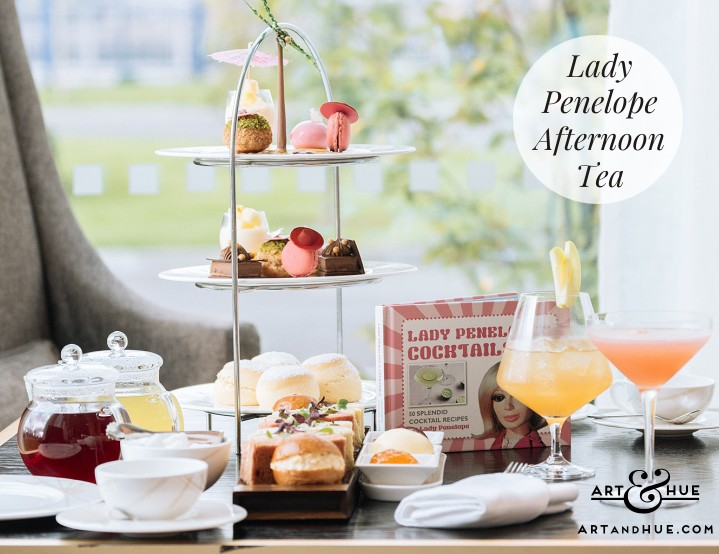Lady Penelope Afternoon Tea at Intercontinental London - The O2