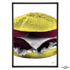 Cheeseburger_Fuchsia_Yellow