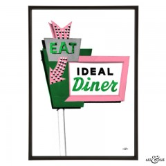 Diner_Sign_Emerald_ThinkPink