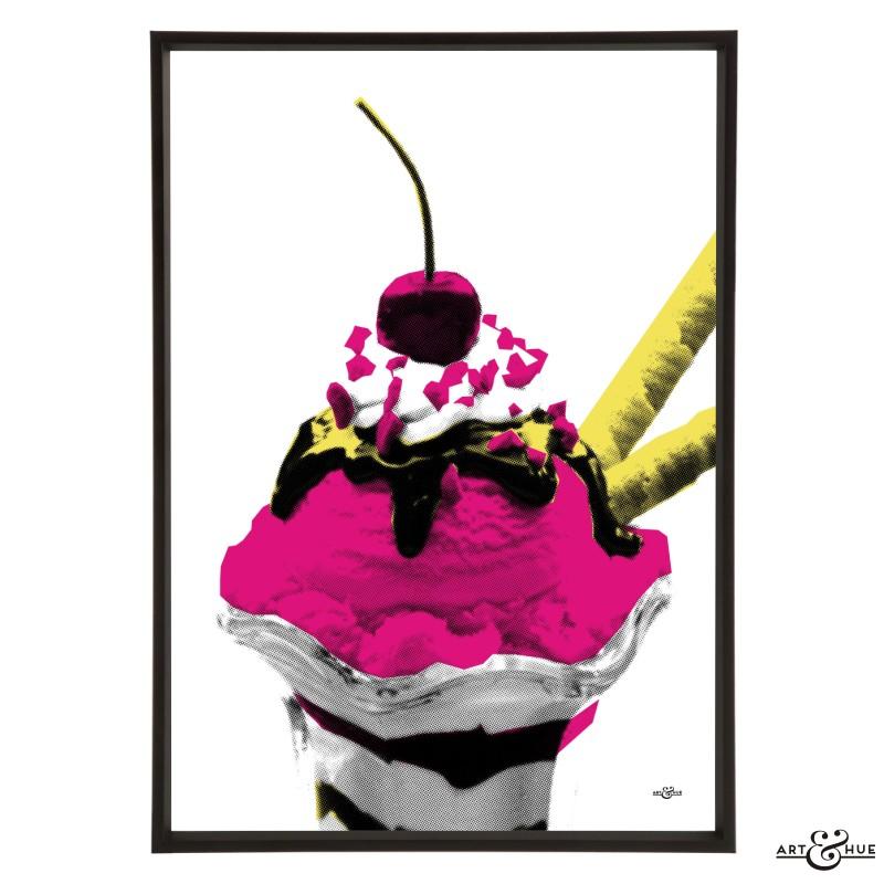 Diner Sundae Stylish Pop Art Bespoke Amp Custom Art