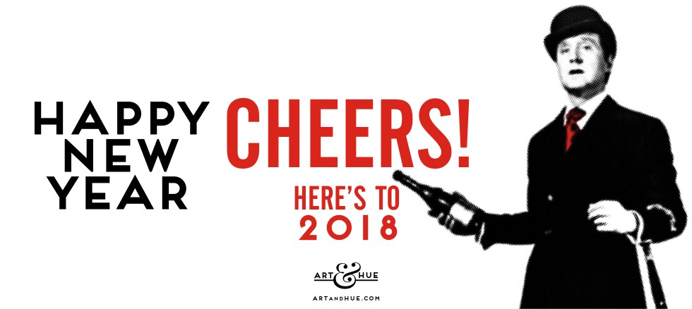 Happy New Year 2018 from Art & Hue