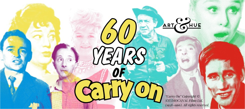 2018 marks 60 years of Carry On Films