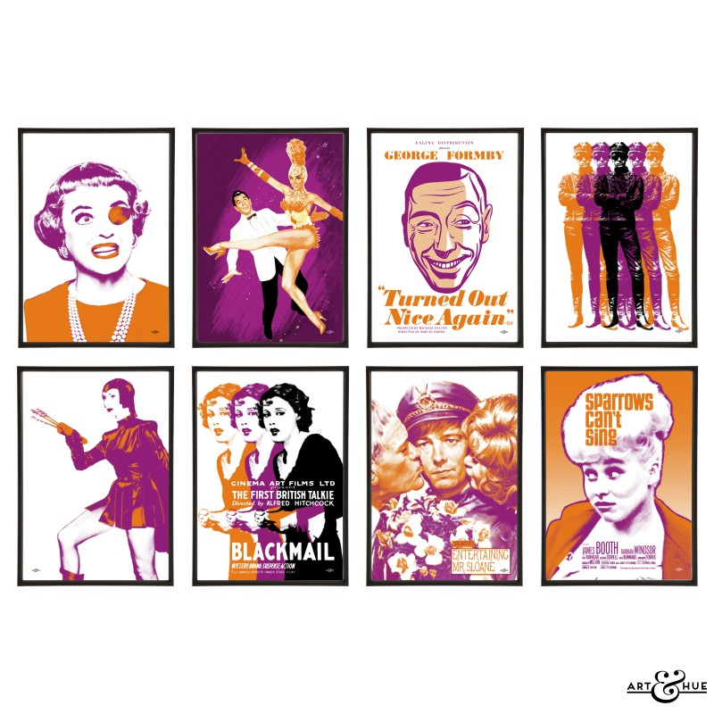 Plays Group of Pop Art prints by Art & Hue
