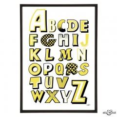 Beano_Alphabet_A_to_Z_Yellow