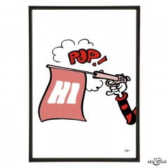 Pistol_Pop_Art_Red