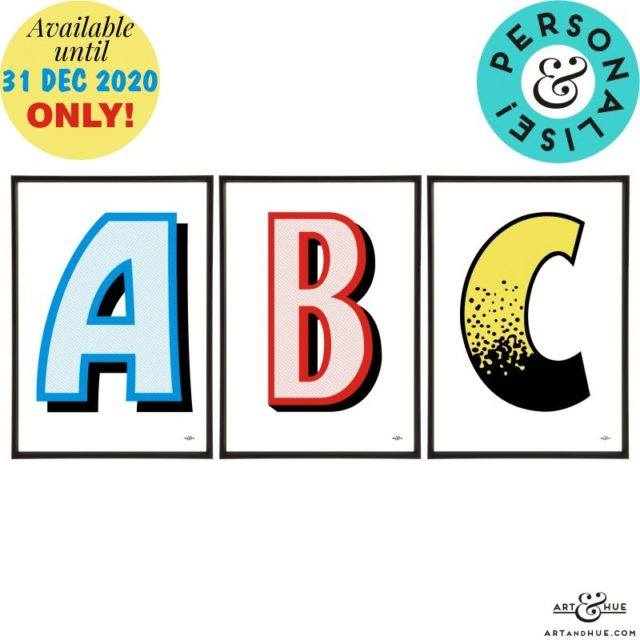 Trio_Beano_Letters_Personalise