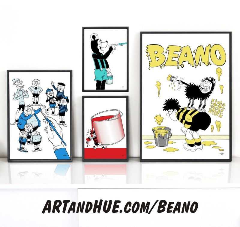 Beano Paint Group by Art & Hue
