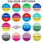 Jet Set Drinks Colour Options