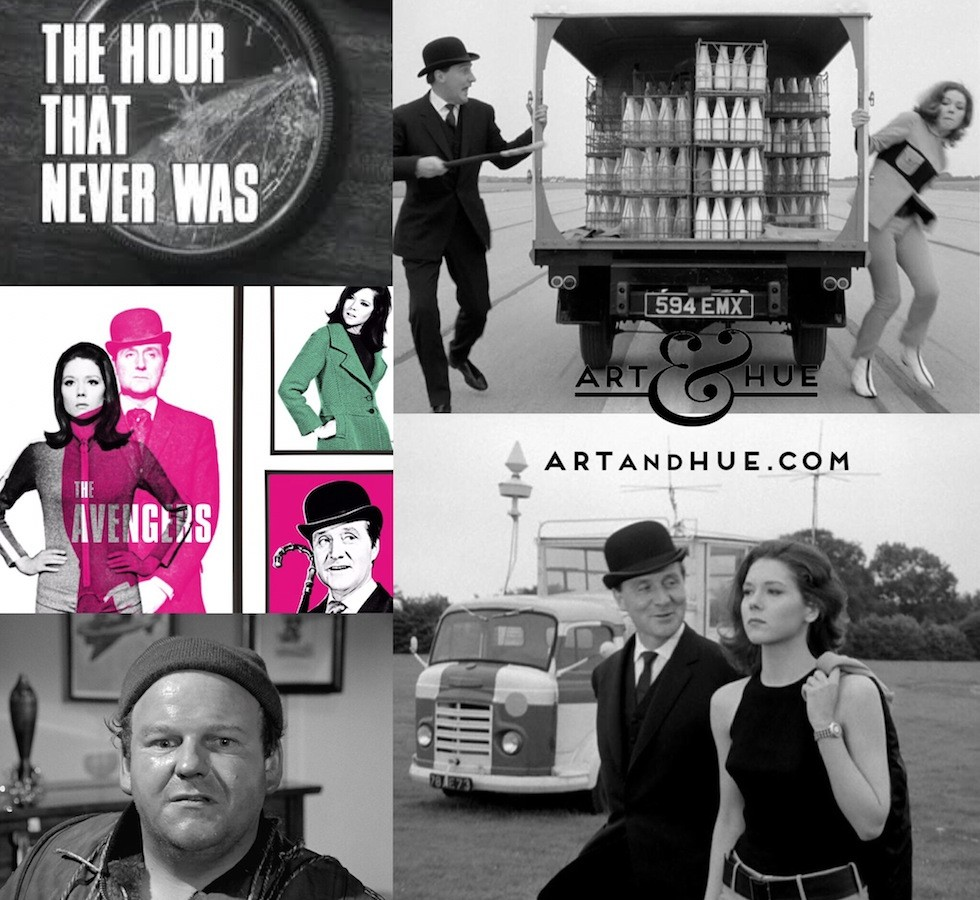 The Avengers The Hour That Never Was Art & Hue