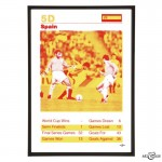 Spain World Cup football squad in Red & Yellow