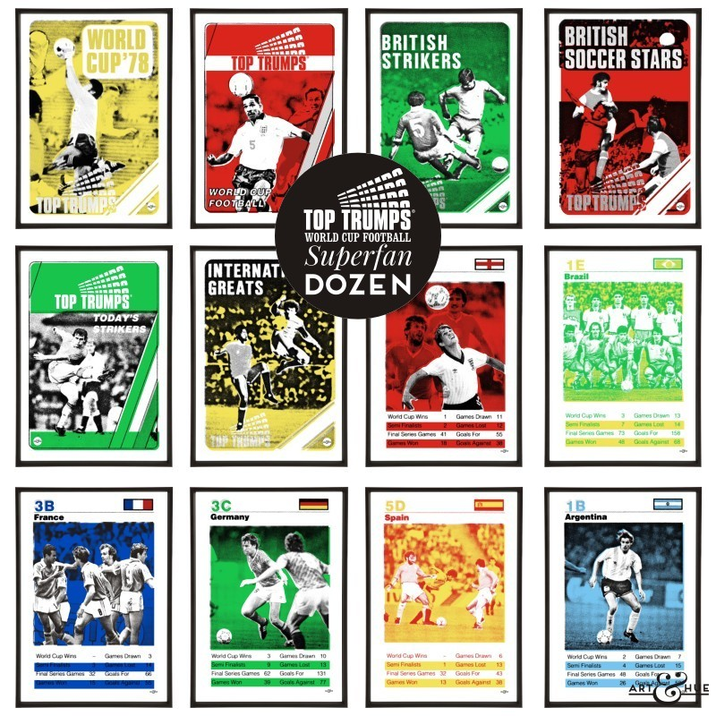Top Trumps Football Superfan Dozen