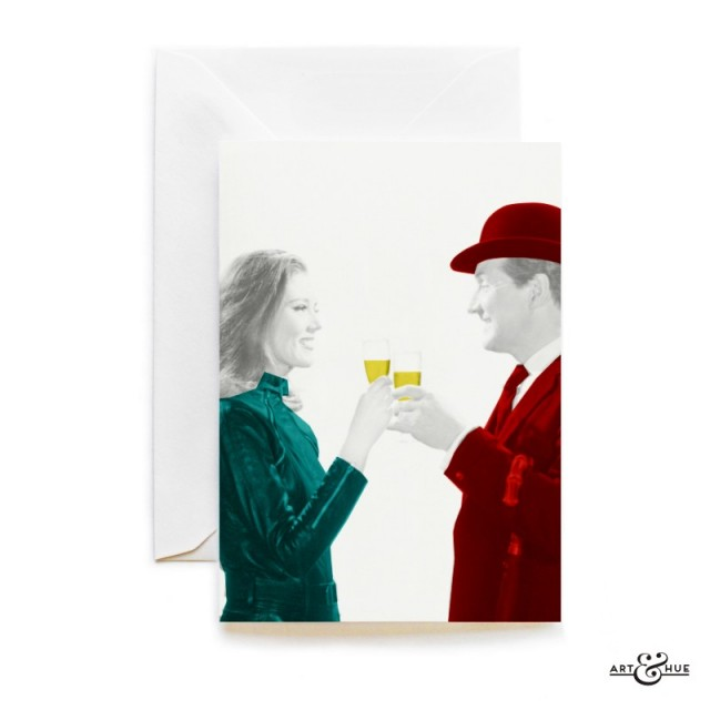 Cheers Greeting Card The Avengers