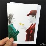 Cheers Greeting Card The Avengers Scale