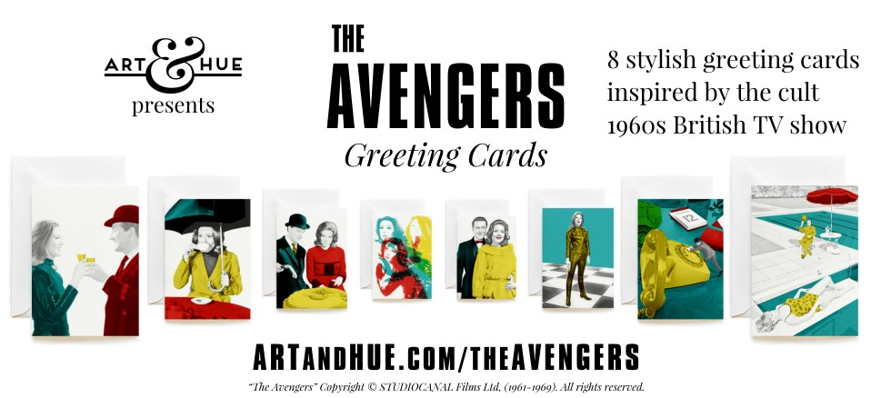 The Avengers Greeting Cards by Art & Hue