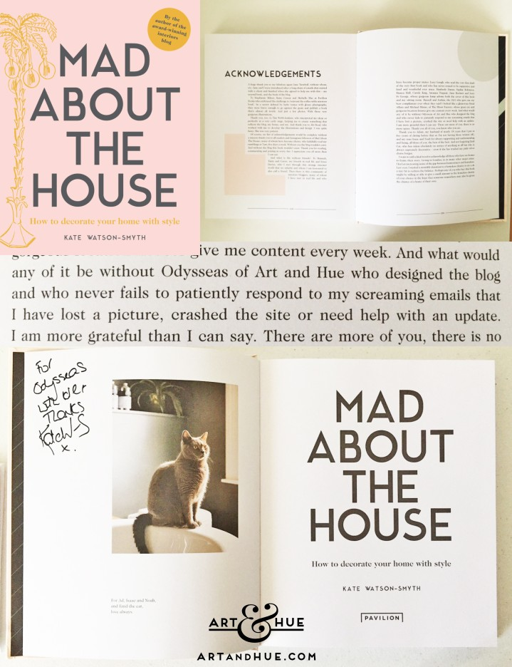 Mad About The House Book Art & Hue